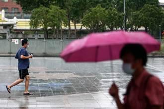 本周午後雷雨掃台 擾動發展、中南部明顯降雨時間曝