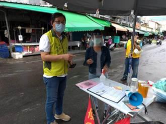 台南加碼安心上工 首波人員投入市場協助防疫