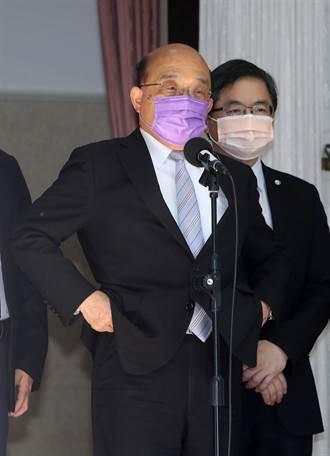 陳培哲指疫苗審查委員不能維持專業性 蘇貞昌:疫苗依法審認