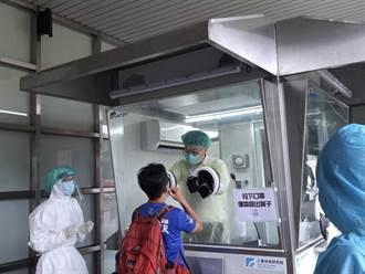 防疫升級保護一線人員  金門增置2座正壓採檢亭