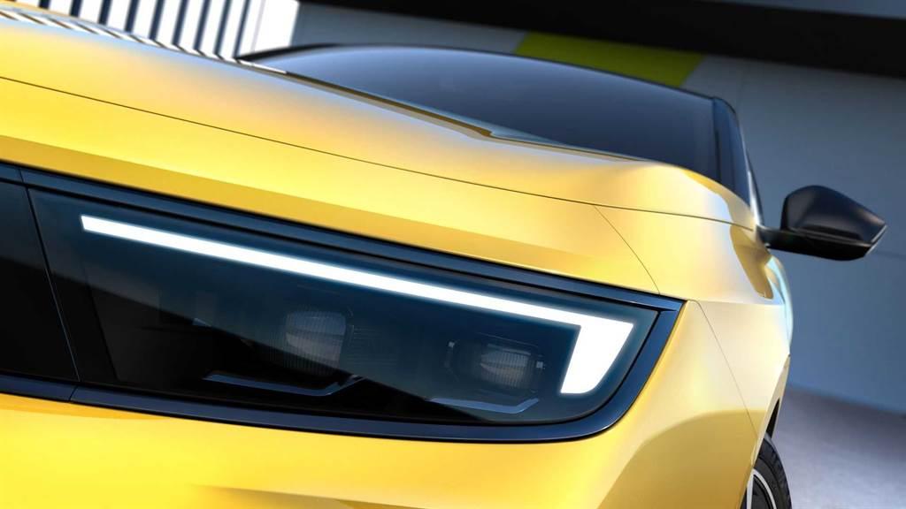 採用第三代EMP2模組化專屬平台,Opel ASTRA 大改款預告出爐
