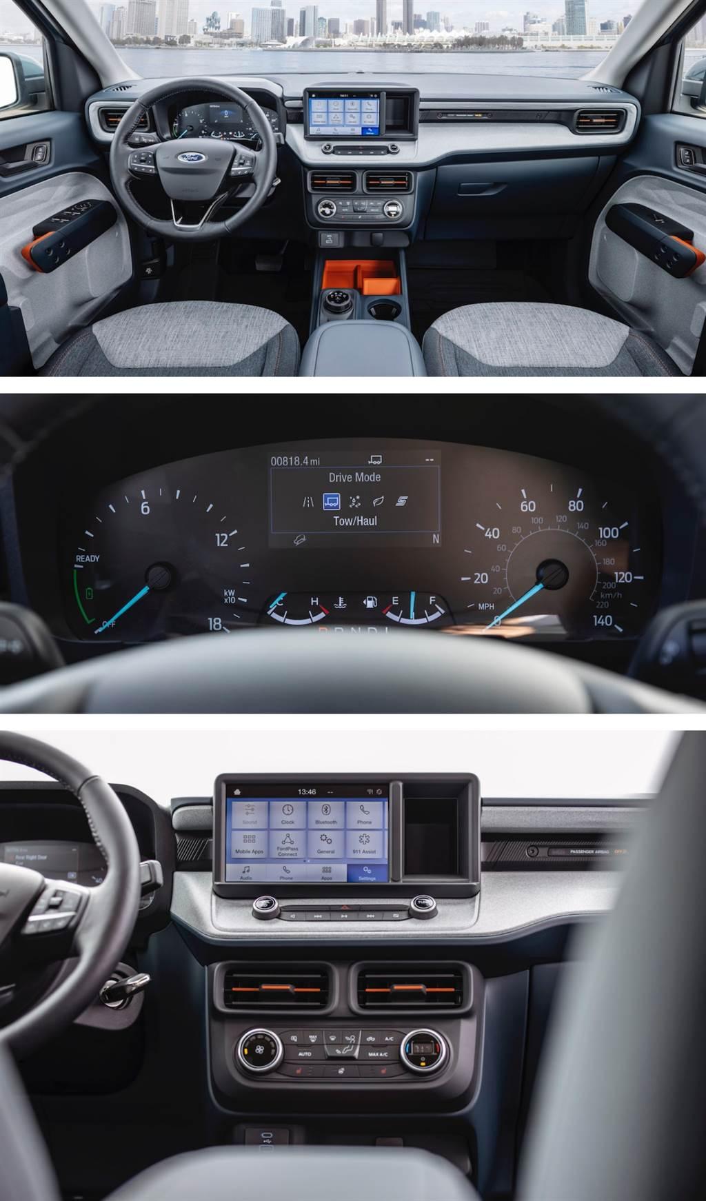首度搭載 HYBRID 系統、油耗 17km/l,Ford Maverick 中小型 Pickup 正式亮相