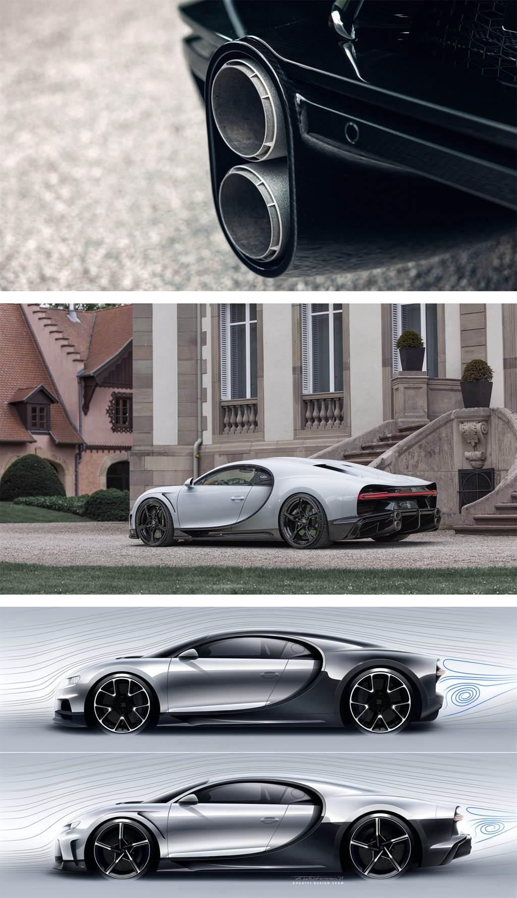 490kph最速量產車 Bugatti Chiron Super Sport限量30台問世!