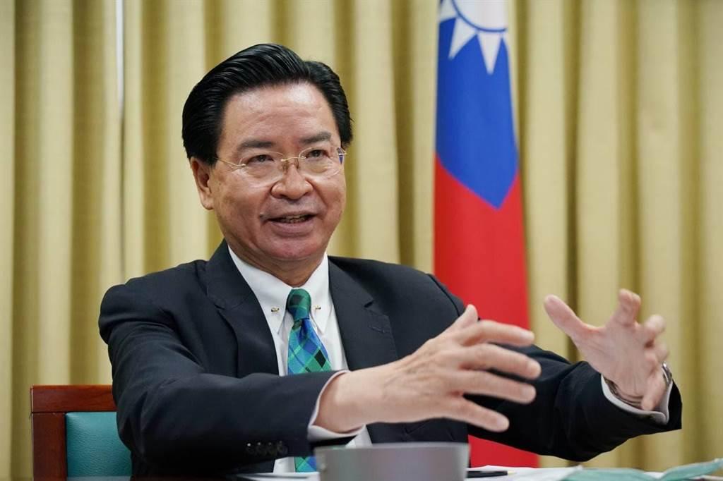 參與戰略溝通峰會,吳釗燮:過去幾周強力反擊爭取疫苗假訊息。外交部提供