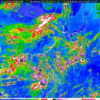 今各地山區慎防午後雷雨 氣象局曝下波變天時間