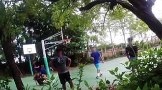 高雄6大學生籃球場鬥牛未戴口罩 警方送一人一舉發單