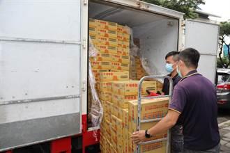 疫情衝擊物資銀行  嘉義城隍廟伸援手 送上182萬物資助弱勢