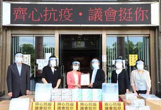 高市議會攜手口罩國家隊 捐贈防疫面罩、口罩