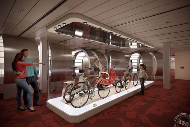 杜拜世博覽會倒數 「歌詩達」成為海上唯一的義大利設計博物館。圖片:義大利歌詩達郵輪提供
