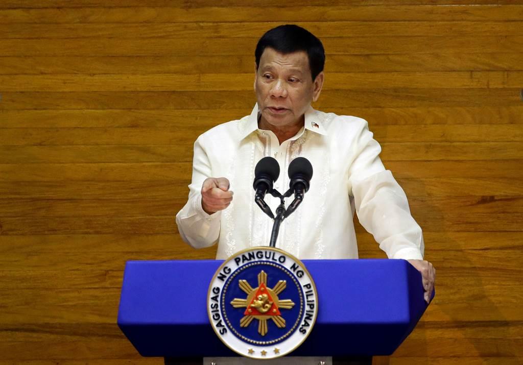 菲律宾总统杜特蒂(Rodrigo Duterte)图/路透社(photo:ChinaTimes)