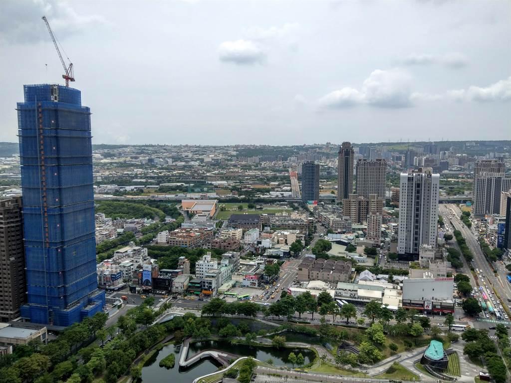 前4月房地合一個人稅收王是台中市,合計金額達12.2億元,一個台中市的稅收就抵過雙北市。(葉思含攝)