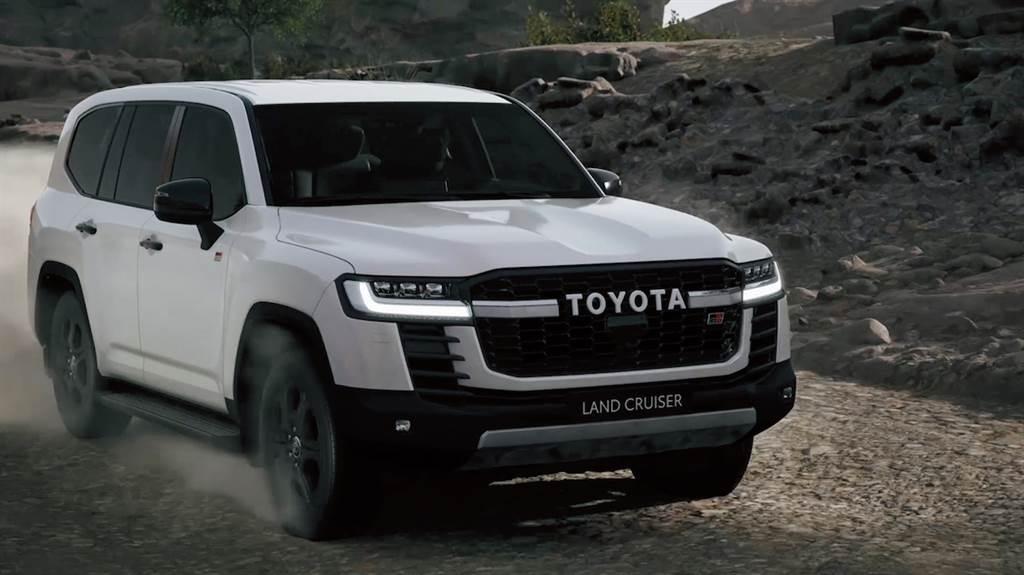 全新GA-F越野平台首發 Toyota Land Cruiser 300線上發表