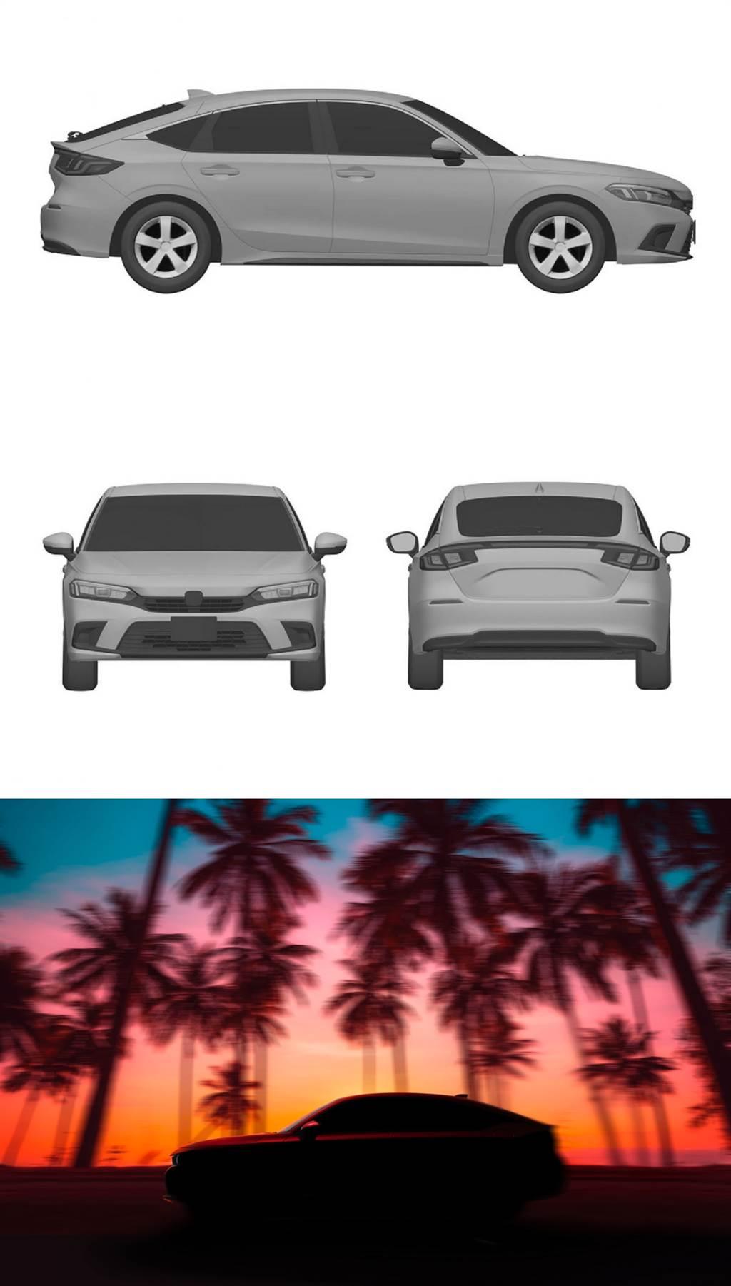 將導入e:HEV規格,Honda CIVIC第11代Hatchback預告線上發表