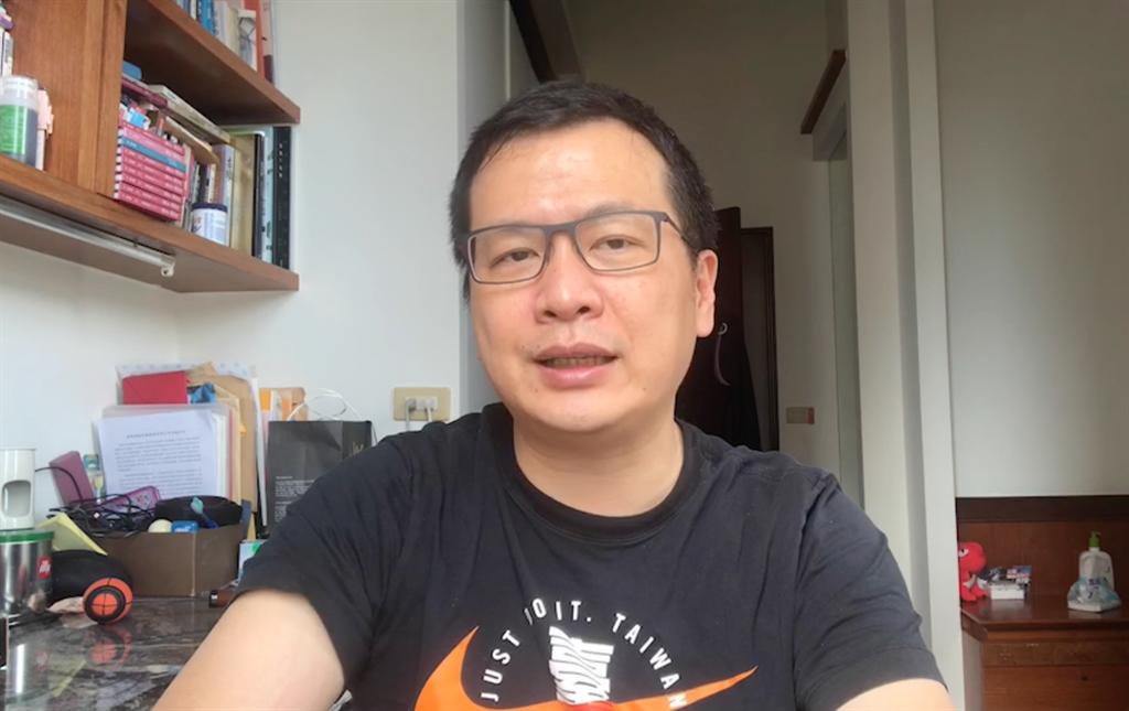 台北市議員羅智強怒批:「做賊喊抓賊,造假喊打假,這就是民進黨的治國術!」(攝影/陳盈臻)