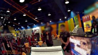 無視疫情嚴峻 台南連鎖健身房7人群聚遭警告發
