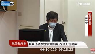 柯P认好心肝违法打疫苗罚200万 陈时中:严查严办