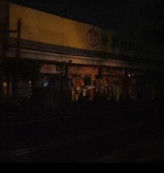 連日大雨致變電所爆炸冒火花 台南市5萬戶半夜停電近1小時
