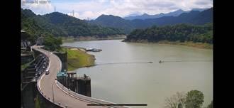 130萬噸水將入庫 石門水庫蓄水率直逼40%