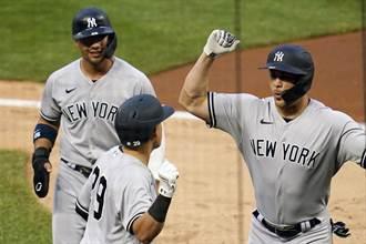 MLB》寇爾6局失2分不要緊 史坦頓雙響炮轟炸5分奪勝