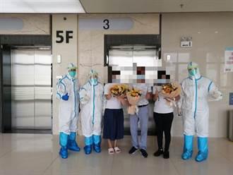 廣州本輪疫情首例患者75歲郭婆婆出院