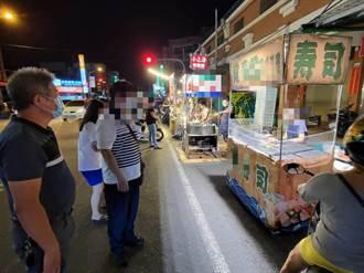 台南5夜市攤商另尋出路卻走錯路 違規占用道路被開罰