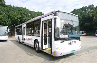 台南市公車受疫情影響搭乘率不到2成 11日起全面減班4成