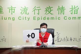 陳其邁:雙北疫情未減前 高雄沒機會防疫降級