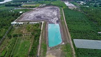 旗山驚現「蒂芬尼藍湖」 中聯澄清:無汙染
