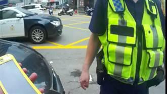 駕駛違停又沒戴口罩 桃園警盤查抓到通緝犯