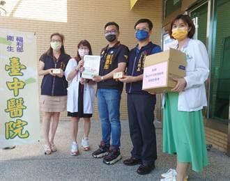 中市議員張彥彤捐血氧機給台中醫院 投入搶救新冠肺炎患者