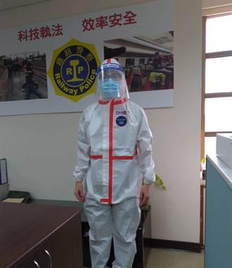 守護鐵警罩得住 醫療集團捐贈防護衣