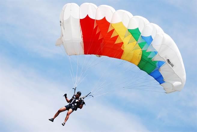 一名玩家眼尖發現跳傘員身上的背帶根本沒有安全繫妥,如果跳下去,可能會直接送命,立刻著急大喊「不准跳」。(示意圖/達志影像)