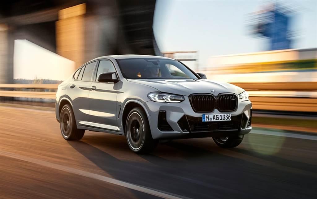 全新外觀細節&配備升級!BMW小改款X3、X4亮相