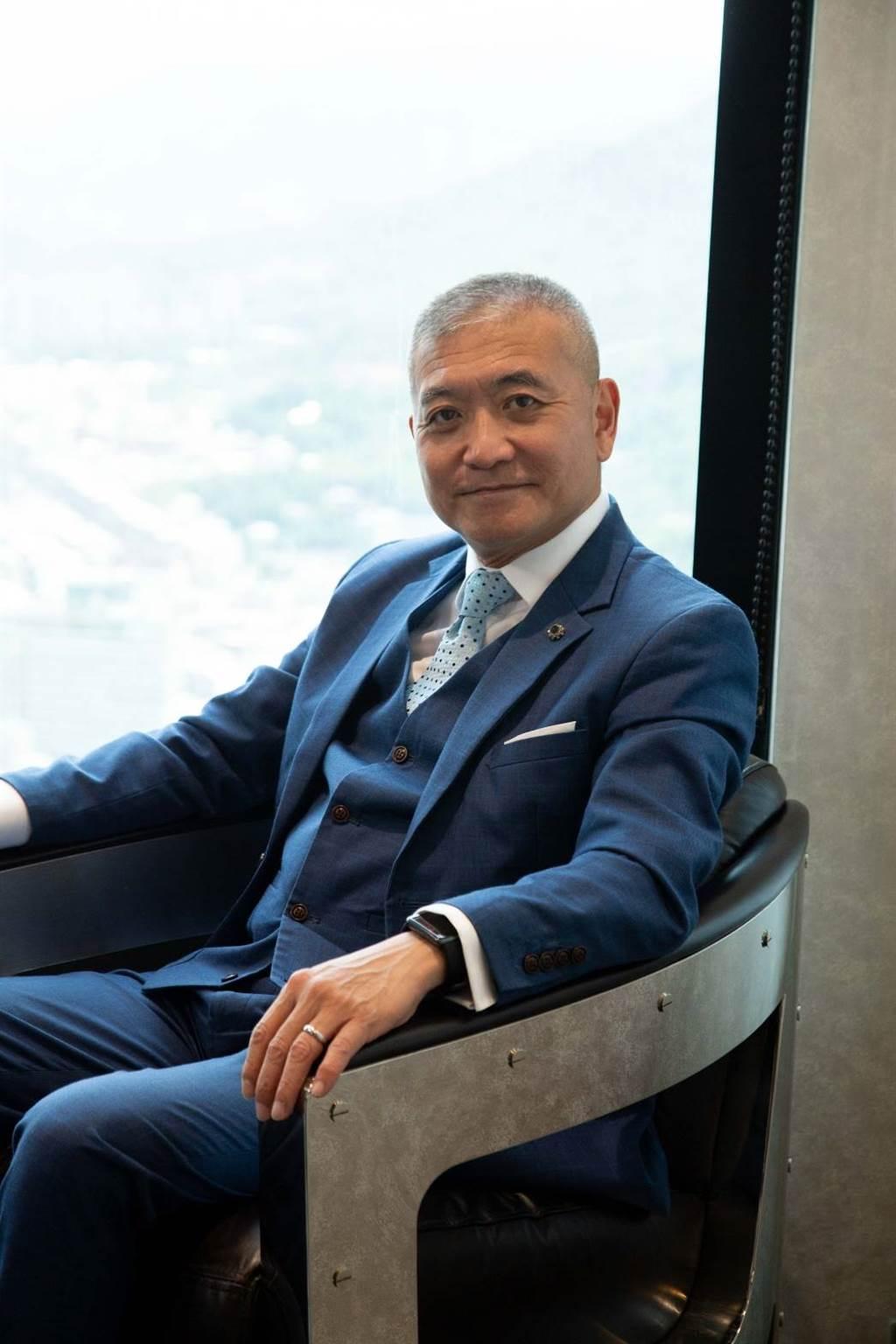 Midas Touch (點石成金數位資產管理平台) 全球行銷事業群總經理何啟聖