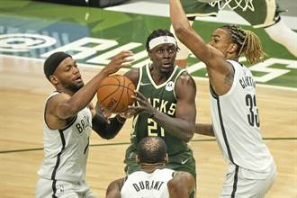 NBA》拒絕籃網聽牌!哈勒戴關鍵切入幫助公鹿險勝