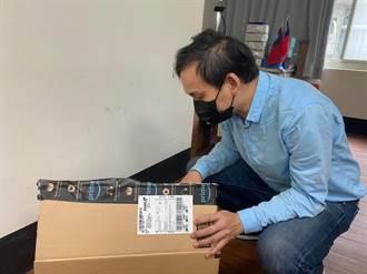 來自美國的溫情  華僑捐掃地機器人、防毒面罩濾心