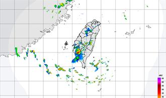 午後對流雲系噴發 南台灣6縣市大雨特報