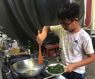 官田國小畢業生線上食農課 把謝師宴辦回來