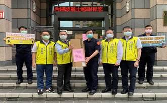 警友會與企業捐紫外線消毒燈  內湖波麗士科技防疫再升級