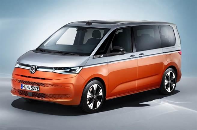 改用MQB平台 VW Multivan T7亮相!
