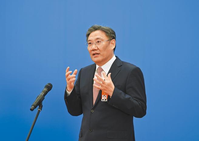 大陸商務部部長王文濤。(新華社)