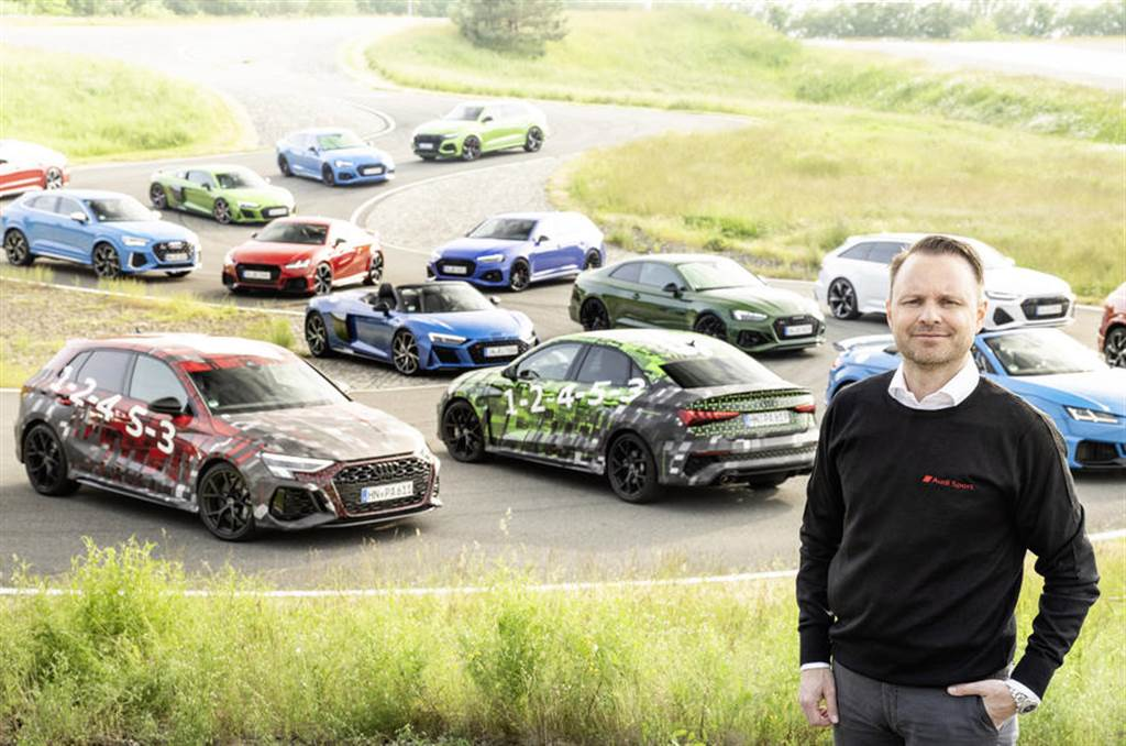 採用 2.5 直五渦輪增壓引擎,Audi RS 3 Sportback/RS 3 Sedan 預告照釋出