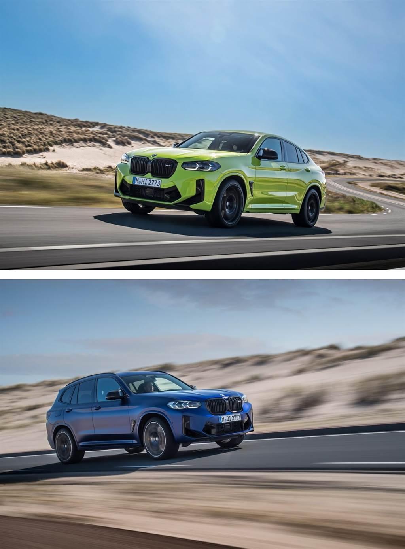 零百加速挺進四秒內!BMW發佈小改款X3 M Competition與X4 M Competition