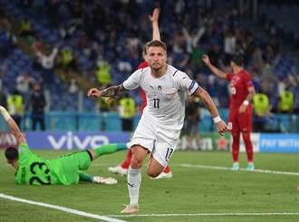 義大利開火 歐國盃開幕戰3球完勝土耳其