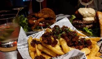 防疫在家免排隊就能嗑 最硬派美式漢堡SKB Burger