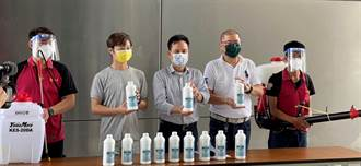 公衛防疫深入基層 中市議員助社區消毒