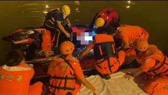 二仁溪南萣橋下驚現遺體 第11岸巡隊打撈上岸