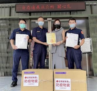 染疫猝死案例頻傳 企業捐警防護衣提供相驗防護