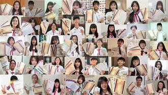 樹德家商應用英語科畢業生 3年豪取330張證照