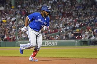 MLB》小葛瑞洛19轟獨霸全壘打王 藍鳥牛棚放火敗紅襪